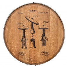 Barrel Head Art - Corkscrew