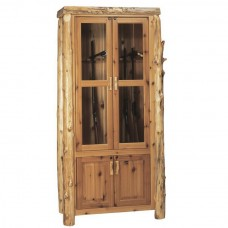White Cedar Gun Cabinets Fireside