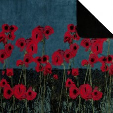 Poppies Throw Blankets