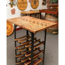 Distinctive Handcrafted Table Wine Rack Napa East