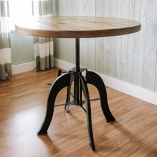 Industrial Crank Pub Table