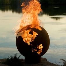 Third Rock Fire Pit Art