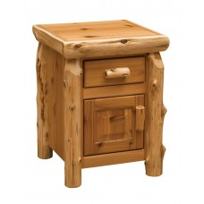 Fireside Cedar Enclosed Nightstand