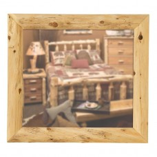 Fireside Lodge Mitered Corner Cedar Mirrors
