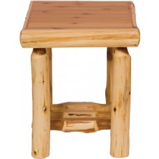 Cedar Open End Table Fireside