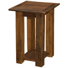 Fireside Lodge Barnwood Open Nightstand