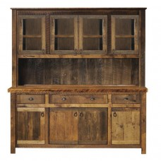 Barnwood Buffet & Hutch Fireside