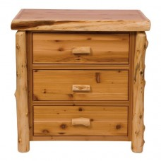 Fireside Cedar Three Drawer Chest