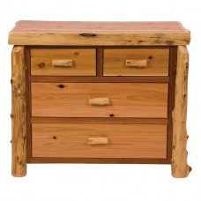 Fireside Cedar Four Drawer Low Boy