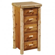 Fireside Lodge Storage Five Drawer Chest