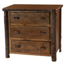 Hickory Three Drawer Chest Espresso
