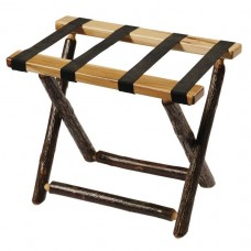 Fireside Lodge Hickory Luggage Rack