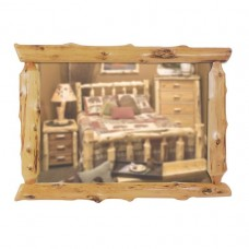 Fireside Lodge Half Log Cedar Mirrors