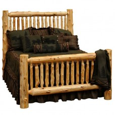 Small Spindle Log Bed