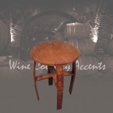 152 Wine Barrel Side Table