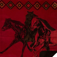 Wild Horses Blanket