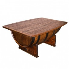 Whiskey Barrel Coffee Table Napa East