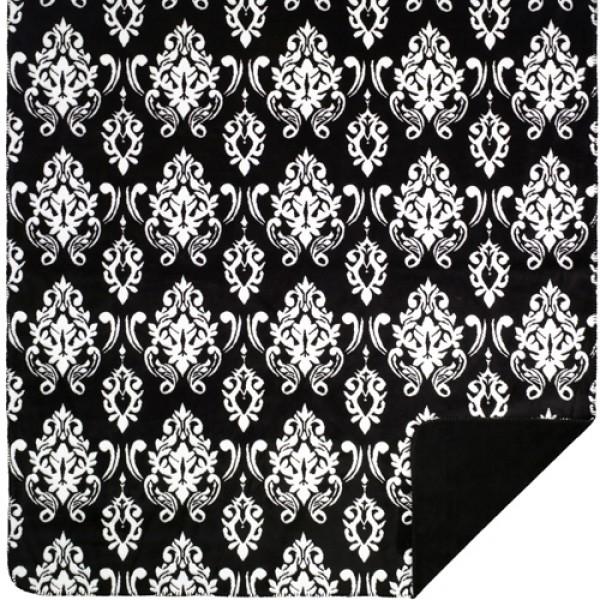 Black Medallion Blanket
