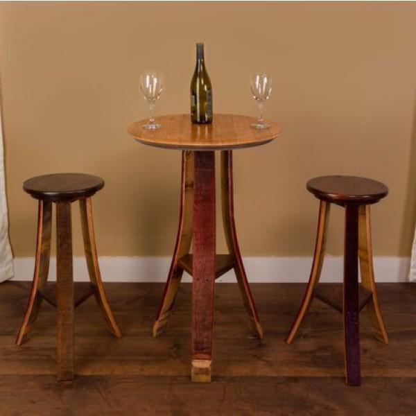 Small Tasting Set Table Napa East