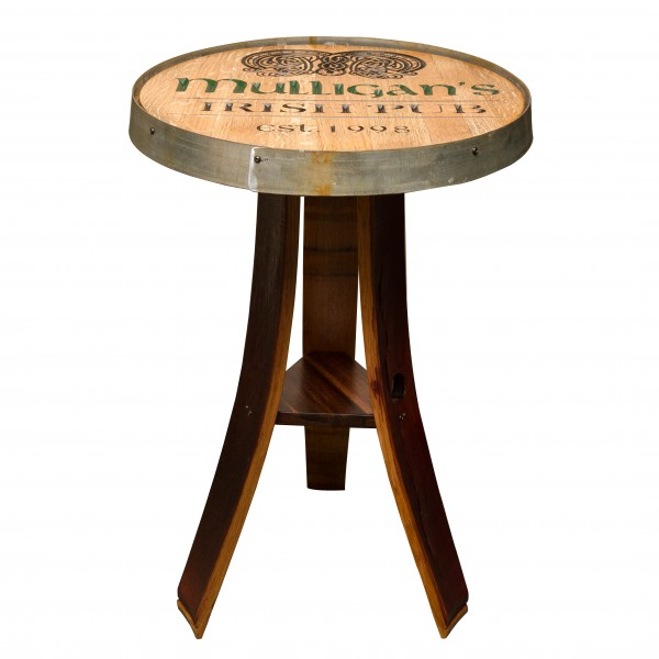 Personalized Irish Pub Table