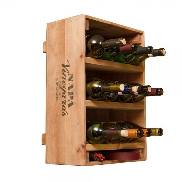 Wine Crate 12 Bottle Wine Rack Napa East