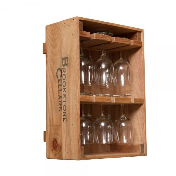 Wine Crate 12 Wine Glass Holder Napa East