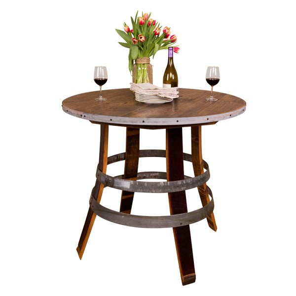 Round Top Stave Table Napa East