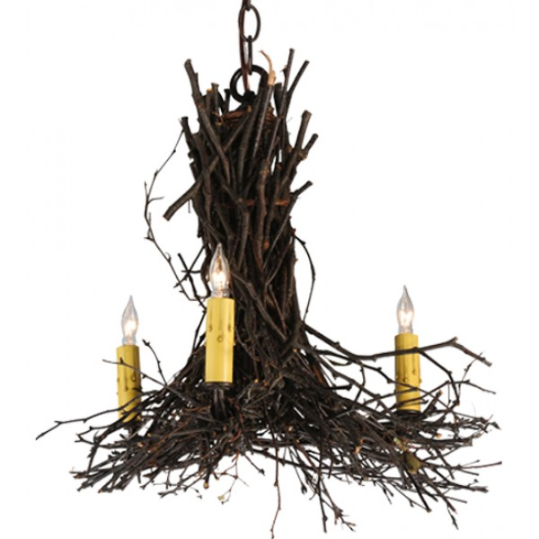 "Meyda Lighting 112367 20""W Twigs Chandelier"