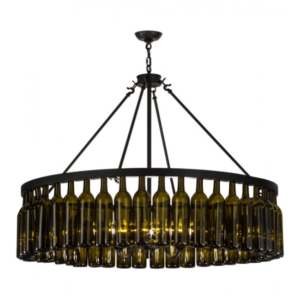 152072 Wine Bottle Chandelier Meyda