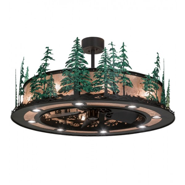 "Chandel-Air 48""W Tall Pines W/Up And Downlights 155102"