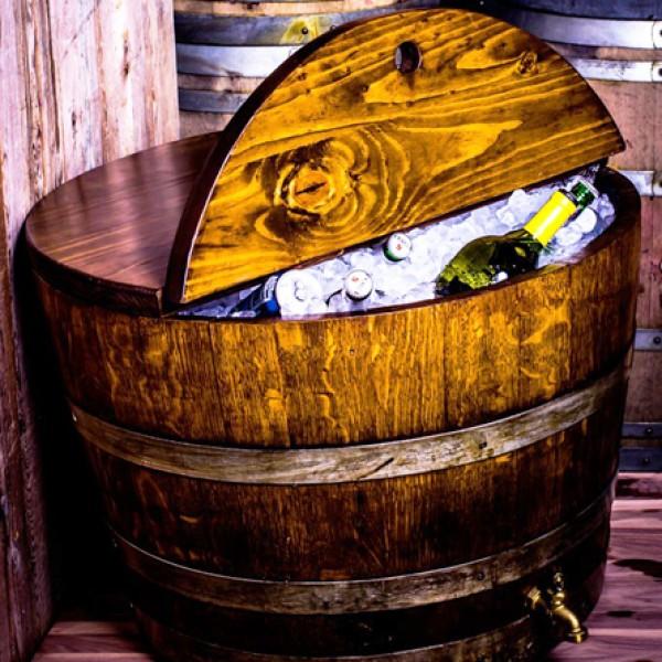 Wine Barrel Shorty Cooler
