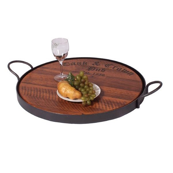 Cask & Crown Personized Tray