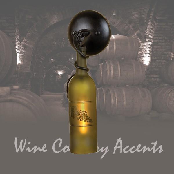 49462 Tuscan Wine Bottle Sconce