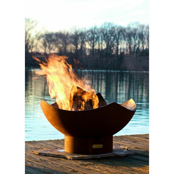 Manta Ray Fire Pit Art By Rick Wittrig Outdoor