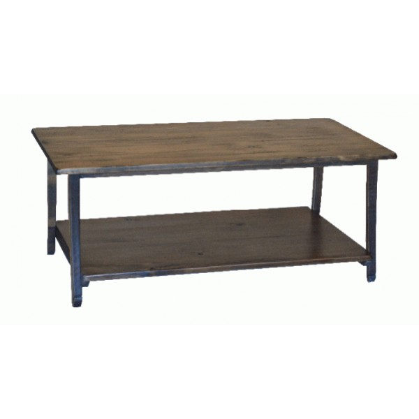 Rustic Stave Leg Coffee Table 2 Day Designs Wine Country