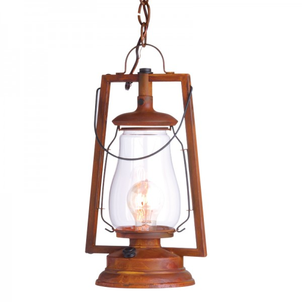 Chain Mount Rustic Lantern
