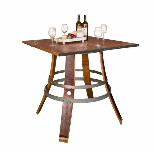 Wine Stave Tavern Pub Table
