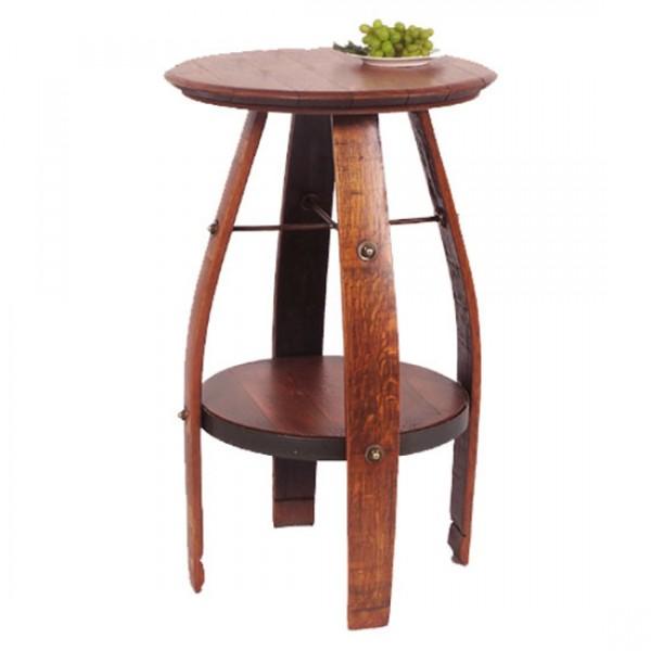 819T-Bistro Wine Barrel Table