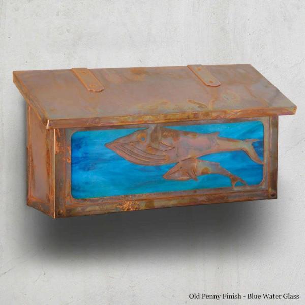 Whales Mailboxes Horizontal