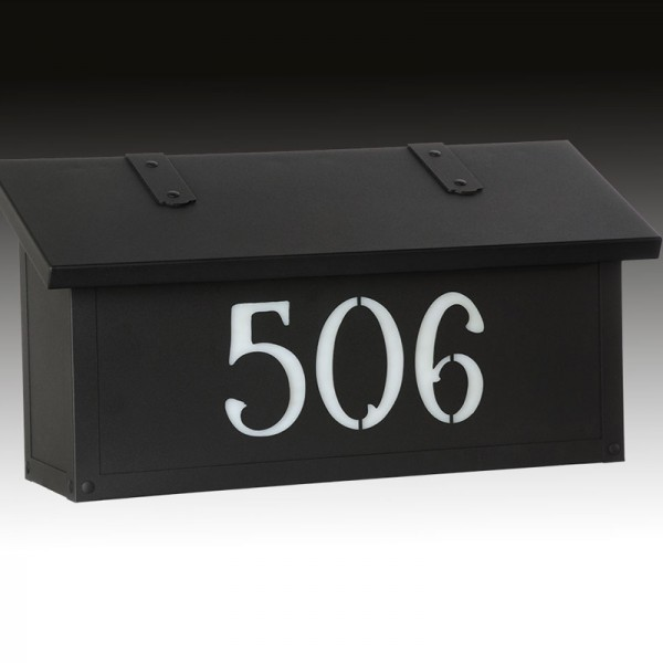 Classic Horizontal House Numbers