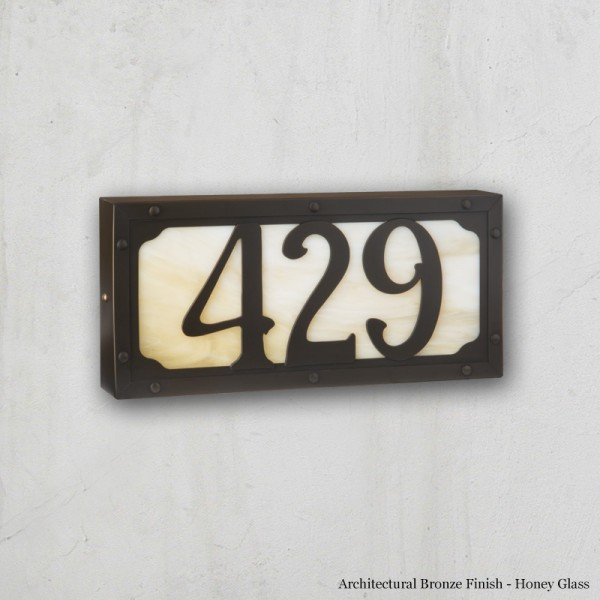 Willowglen Dr. Small Illuminated House Numbers