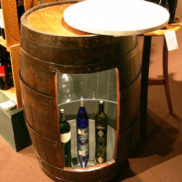 Oak Barrel Company Wine Barrel Bar