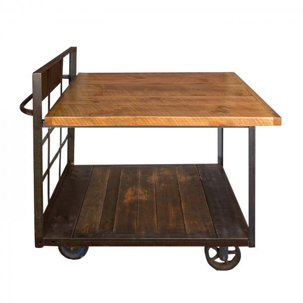 Industrial Cart Pub Table Napa East