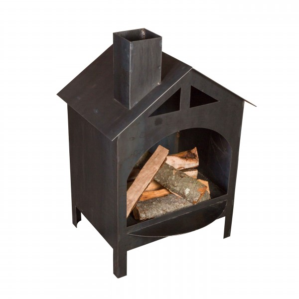 EH1007 Fire Haus Steel Outdoor Fireplaces