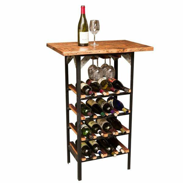 Distinctive Table Wine Rack