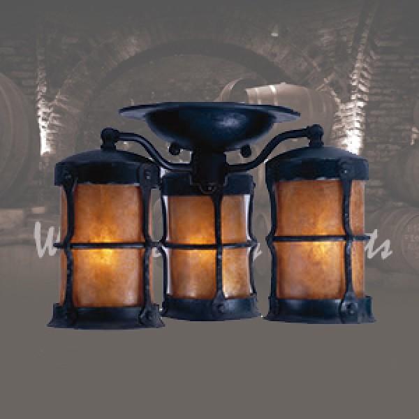 LF407 Griffith Ceiling 3 Lantern