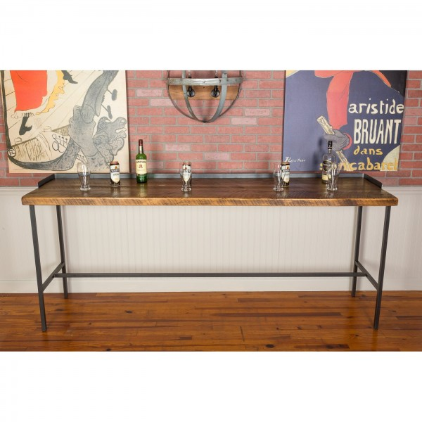1127 Industrial Farm House Console Table Napa