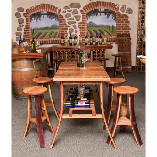 Wine Country Tasting Table Set Napa East