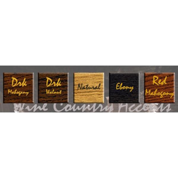 Wine Barrel Stave Backless Bar Stools The Oak Barrel Company