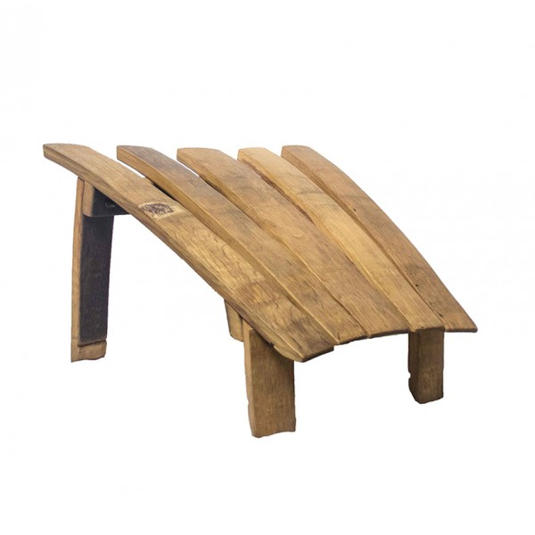 Wine Barrel Stave Foot Stool Wine Country